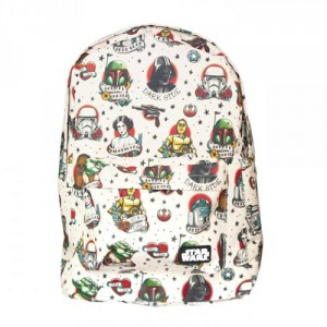 Star Wars Flash Tattoo Print Backpack