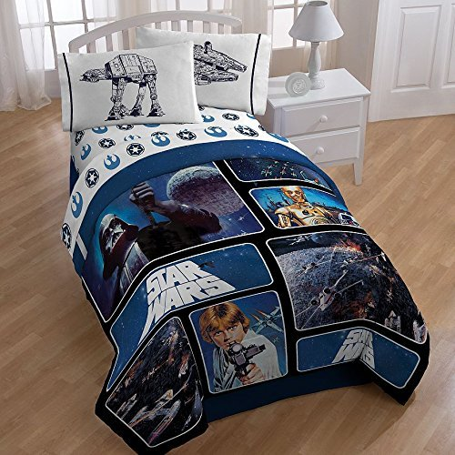 "Disney Classic Star Wars Yoda Twin Plush Blanket 60/""x80/"" Throw Bedding"